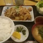 千葉B級グルメの晩御飯